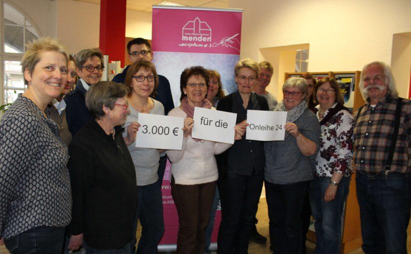 Weitere 3.000 Euro für die Onleihe