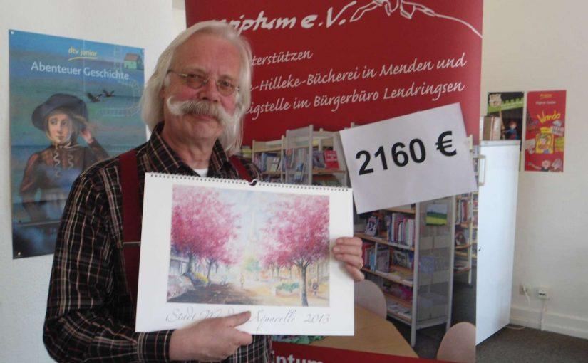 Menden-Kalender bringt 2.160 Euro